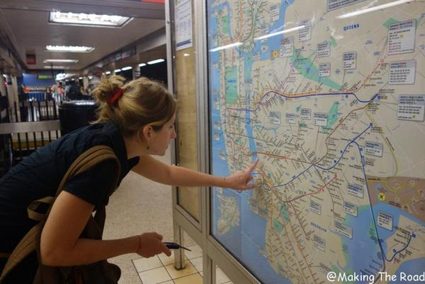 conseil visiter new york metro itineraire budget voyage 10 jours