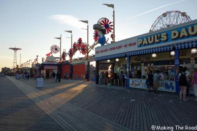 Coney Island visite new york insolite bon plan 10 jours à new york planning