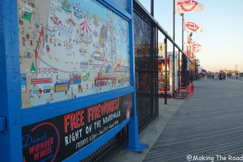 new york coney island plage