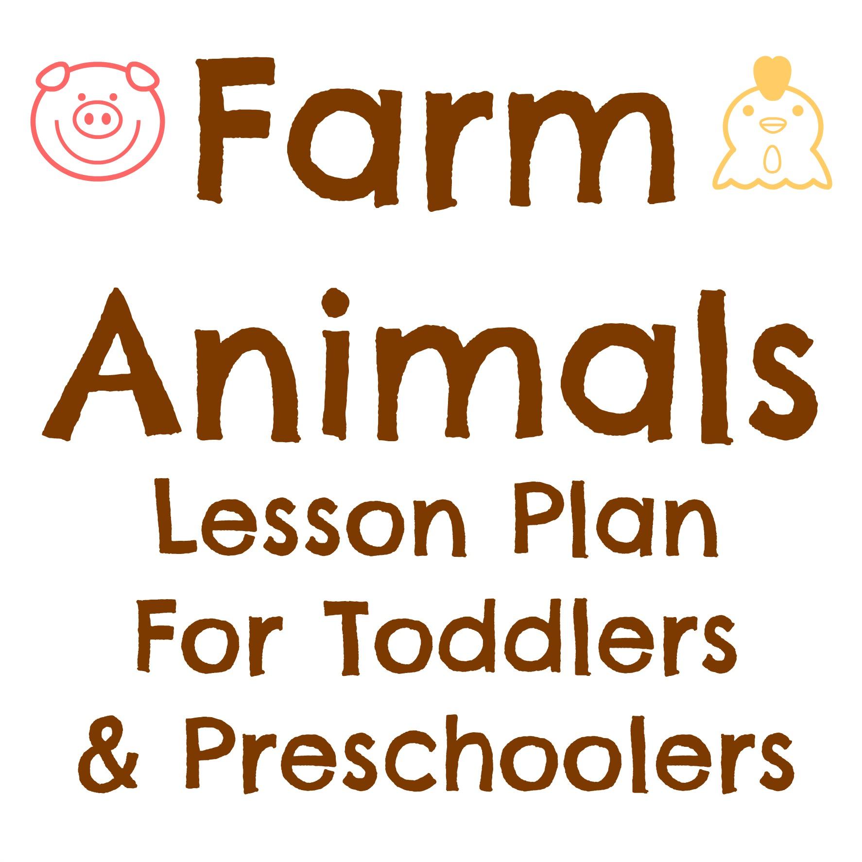 Tot School Farm Animals