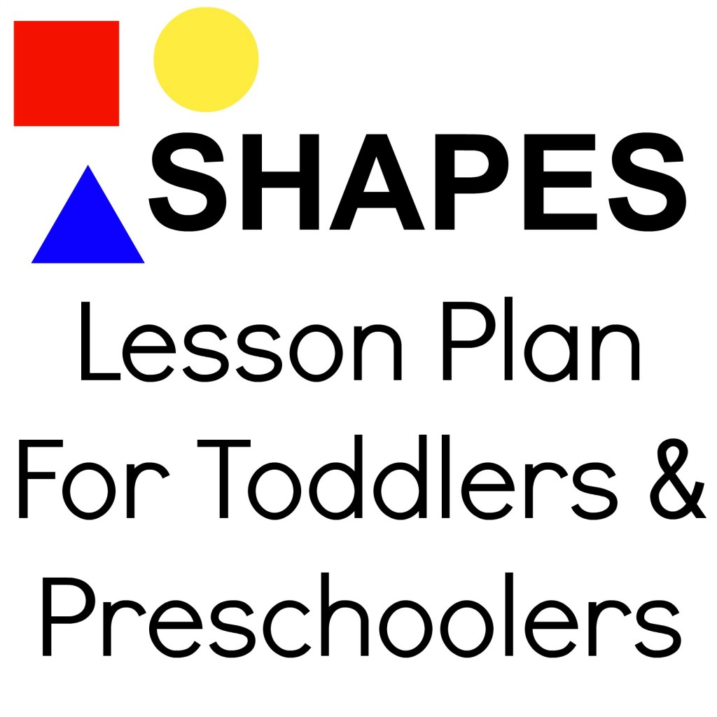 Tot School Shapes