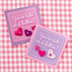 Cute As A Button DIY Valentines Making Time For Mommy