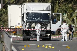 NICE ATTACK IN FRANCE - THE TRUCK