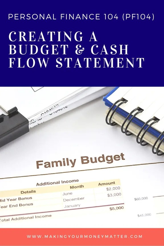 This free class will teach you how to budget your money and create a cash flow statement just like a professional financial planner would.