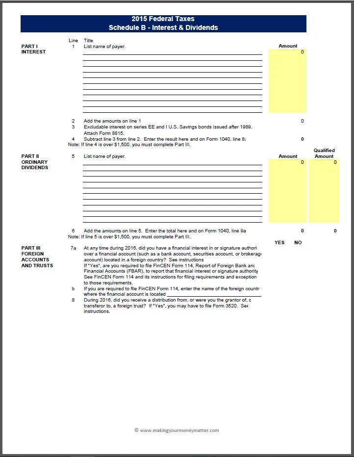 TX303 Intermediate Income Taxes – Qualified Dividends and Capital Gain Tax Worksheet