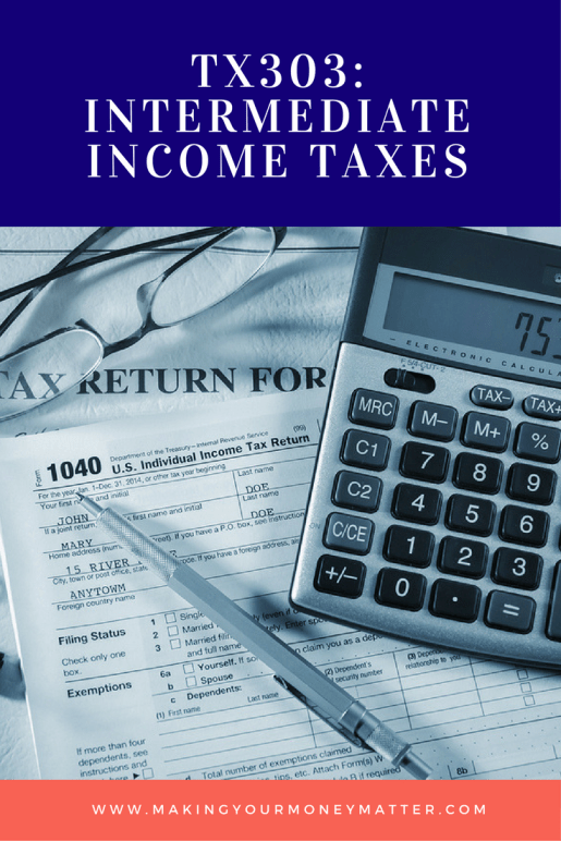 This free class explains some of the slightly more complicated tax issues like qualified dividends, capital gains, Alternative Minimum Tax, Net Investment Income Tax and more. Love this spreadsheet to calculate taxes!