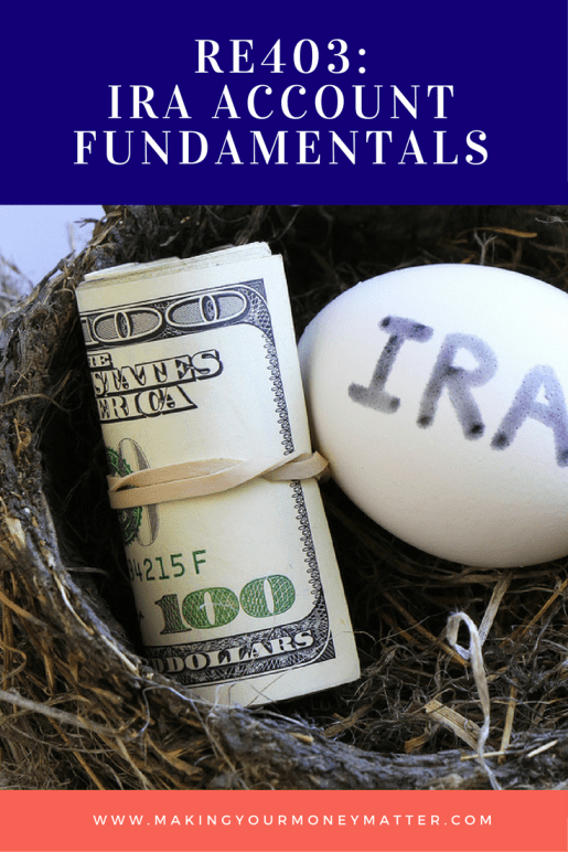 IRA's are the KEY to saving for retirement. Check out this free mini-class to learn the basics of how they work, contributions, withdrawals and a nifty spreadsheet!