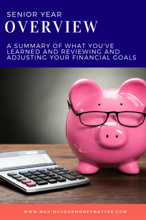 """An overview of the """"senior"""" year of Making Your Money Matter classes - learn more about retirement and estate planning for your future."""