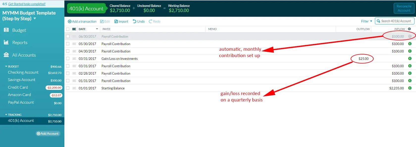 ynab tutorial part iv  net worth  u0026 tracking accounts