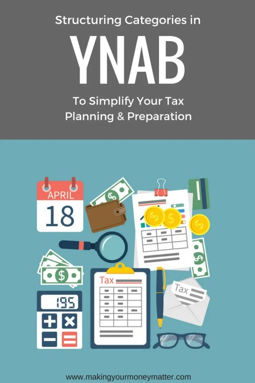 This is genius. Set up YNAB to simplify your taxes. This is organizing your finances and budgeting to the next level!