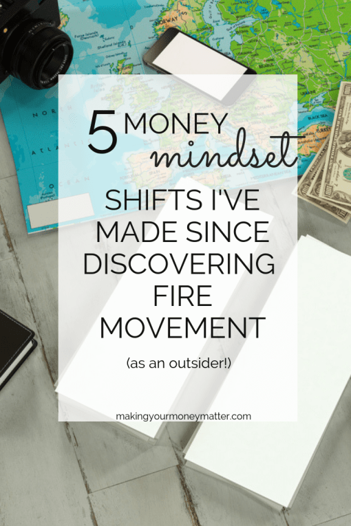 I may not be an actual part of the FIRE movement, but it still changed my life. Even if you don't plan to save $1M and retire in your 30's or 40's, there's still a lot to take away from this movement!
