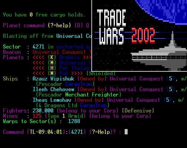 Trade Wars 2002 (BBS Retro)