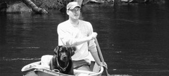 Img: Picture of me (Mark Hanlon) canoeing