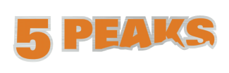 5-Peaks Logo - Offering trail running races across Canada.