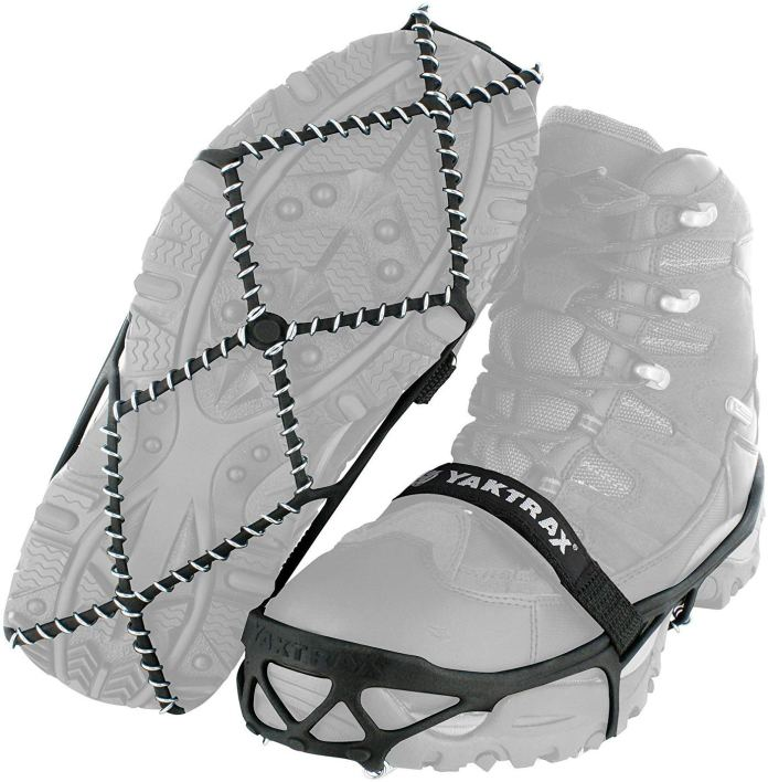 Image:  Yaktrax Pro Tracktion Cleats
