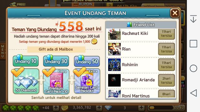 Event Undang Teman LINE Let's Get Rich