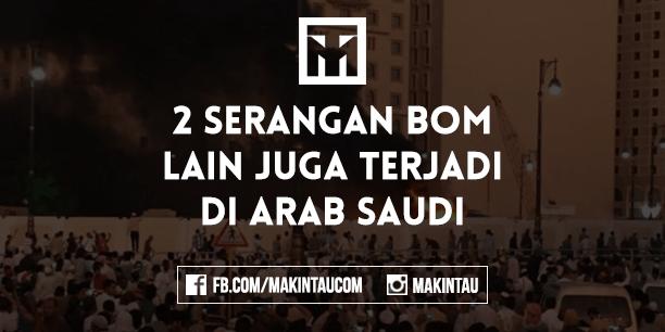 Selain Madinah, Dua Kota Lain di Arab Saudi Juga Diserang Bom Bunuh Diri