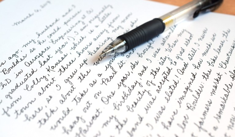 10++ Kumpulan Tulisan Tangan yang Bagus dan Indah