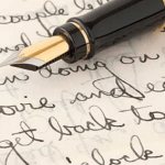 tulisan tangan orang jenius