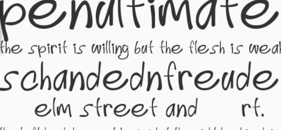 download font tulisan tangan