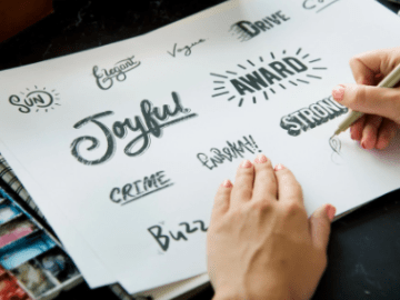 kata kata tulisan tangan