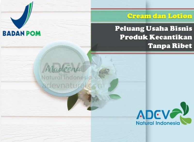 Maklon cream wajah