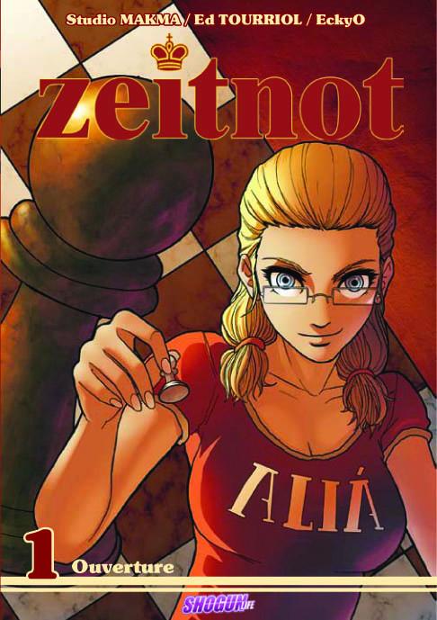 Un manga sur les échecs : Zeitnot a été publié dans la collection de mangas français Shogun des Humanoïdes Associés (manfras, euromangas, global mangas).