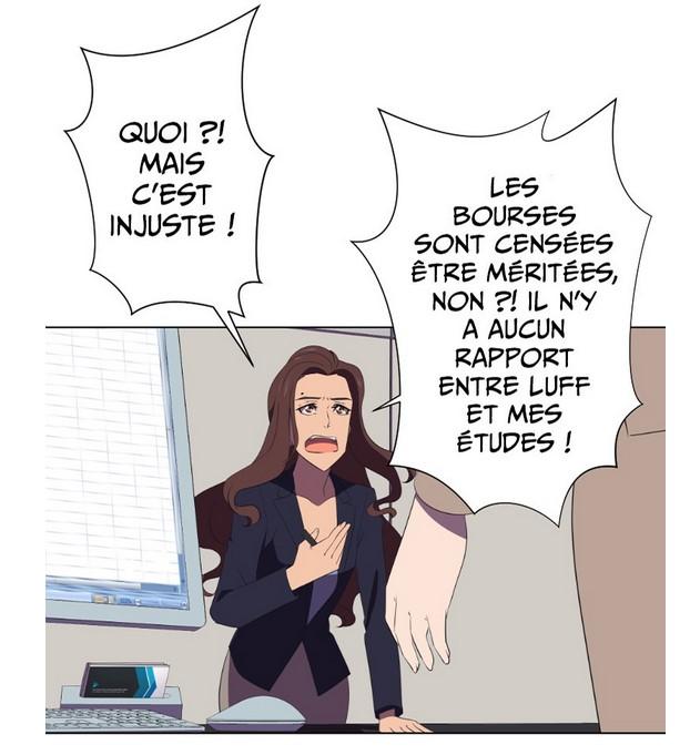 Webtoon Luff - illustration.