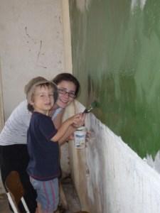 Painting Blackboards