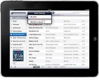 iTunes Home Sharing iPad 02