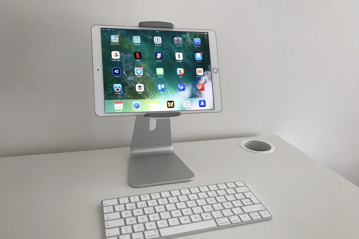 Convirtiendo un iPad en una pantalla cómoda