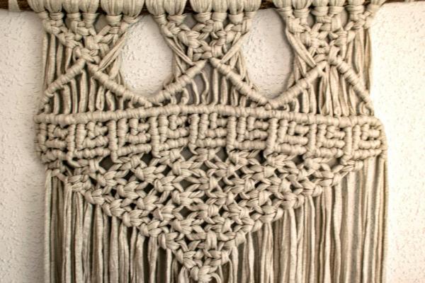 Imágenes de tapices de macramé
