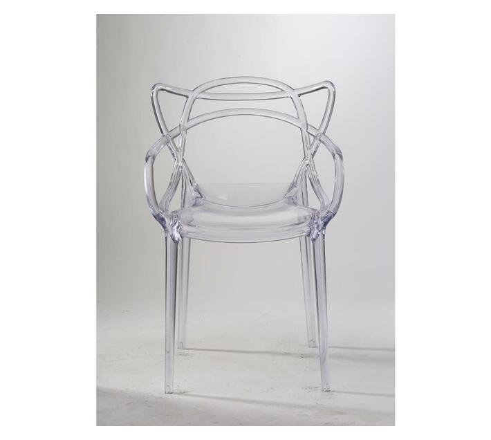 plastic replica master chair clear