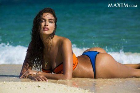 Irina Shayk Sports Illustrated Swimsuit 2014 2 - Irina Shayk (irina Şeyklislamova)