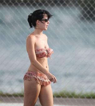 Katy Perry Beach in the Bahamas, July 19, 2010