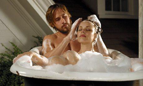 Rachel McAdams with Ryan Gosling in The Notebook