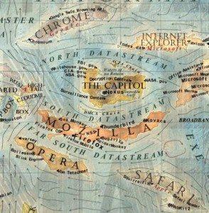 06 Dünya İnternet Haritası 1.0