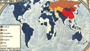 21 Dünya İnternet Haritası 1.0