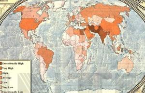 24 Dünya İnternet Haritası 1.0