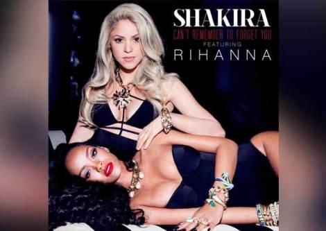Rihanna-Ft-Shakira-Cant-Remember-To-Forget-You Aklınızı Başınızdan Alacaklar!