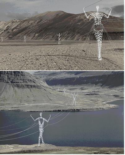 izlanda-da-elektrik-direkleri İlginç Fotoğraflar -1