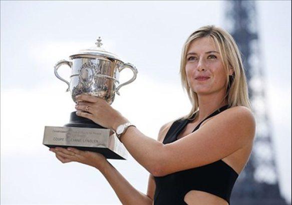 Turnuvaların Kraliçesi! Maria Sharapova
