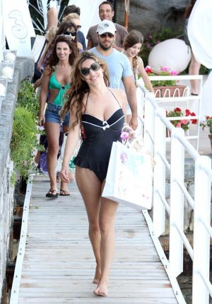 KELLY BROOK AND ELI ROTH IN SARDINIA