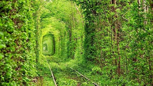 Ask-Tuneli Renkli ve İnanılmaz Dünya Manzaraları