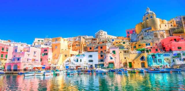 Procida-İtalya Renkli ve İnanılmaz Dünya Manzaraları