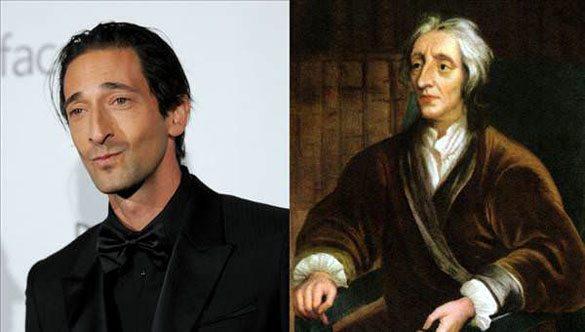 Adrian-Brody-John-Locke Günümüzdeki Ünlülerin,tarihteki benzerleri!
