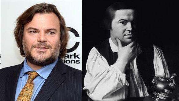 Jack-Black-Paul-Revere Günümüzdeki Ünlülerin,tarihteki benzerleri!