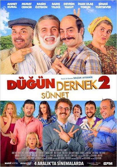 dugun-dernek-2-sunnet-2015-filmi-afis Türkiye'de, 2015 Yılının En Çok İzlenen Filmleri