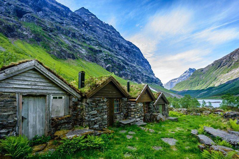 Geiranger,-Norveç