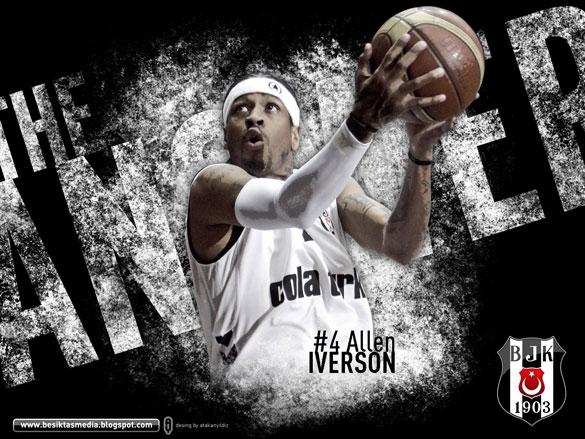 allen-iverson-efsane-10-basketbolcu Dünya Basketbol Tarihinde, Efsaneleşmiş 10 Basketbolcu